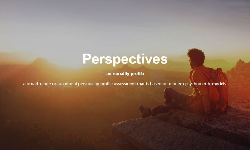 Perspectives is now a BPS / EFPA Registered Test